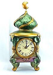 New! The Unique Ottoman Quartz Handmade In Australia Table/Self Clock-ACO