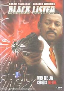 BLACK LISTED  -  ( WHEN THE LAW CROSSES THE LINE) -BRAND NEW  DVD - FREE UK POST