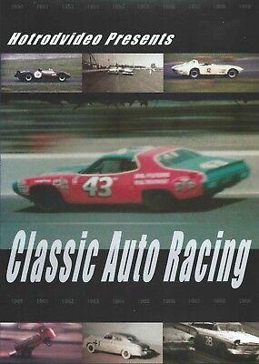 Classic Auto Racing DVD Vintage NASCAR USRRC NHRA Drag Racing Films To