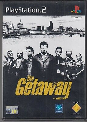 Playstation 2 PS2 game THE GETAWAY European Version for sale  Shipping to Nigeria