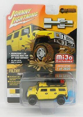 Wagoneer Off Road - 2018 Johnny Lightning *OFF-ROAD* Yellow HUMMER H2 WAGON *MiJo EX* NIP!