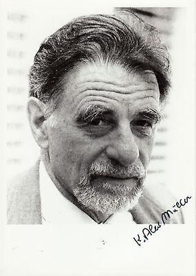 Alexander K. Müller Originalautogramm auf Foto - Nobel Prize Ph 87