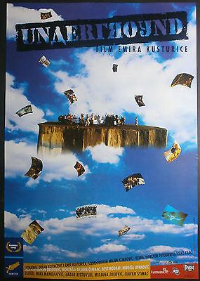 Covered Emir Kusturica Palme d'Or Winner 1995 ORIGINAL YUGO MOVIE POSTER