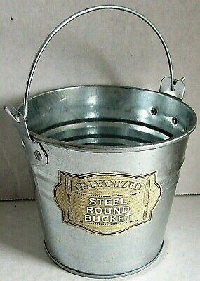 Galvanized Steel Buckets (GALVANIZED STEEL Round Bucket 4.25