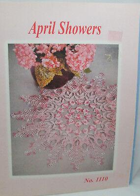 Шаблоны Yesterdazes April Shoers Thread crochet