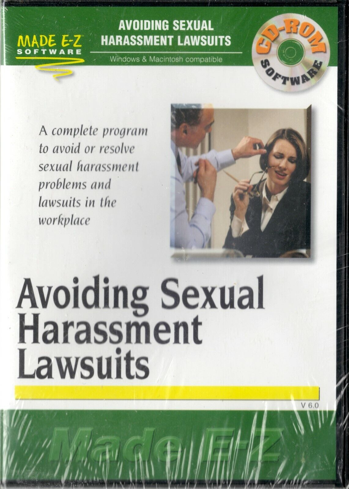 Made E-Z Software - Avoiding Sexual Harassment Lawsuits - CD-ROM 2001