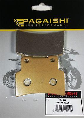 PERFORMANCE SINTERED GOLD FRONT BRAKE DISC PADS FOR <em>YAMAHA</em> YZF R125 20