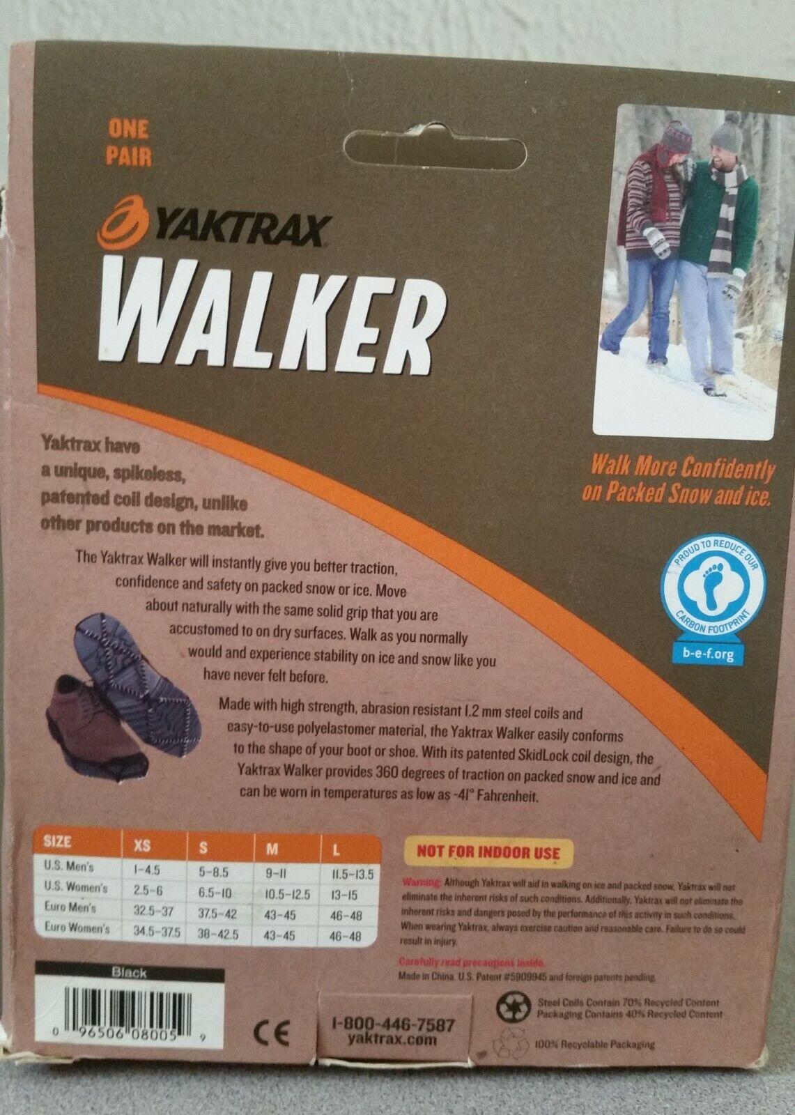 как выглядит NIB UNISEX YAKTRAX WALKER LIGHT DUTY TRACTION DEVICE SIZE L фото