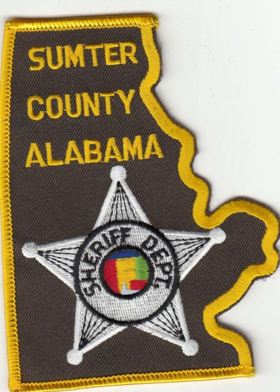 SUMTER COUNTY SHERIFF DEPARTMENT ALABAMA AL POLICE PATCH