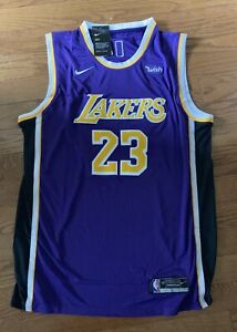 Nike Lebron James LA Lakers NBA Jersey