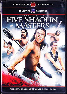 Five Shaolin Masters (DVD, 2011) Dragon Dynasty New