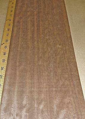 Bubinga Smoked Figured Wood Veneer 7 X 24 Raw No Backing 142 Thickness A