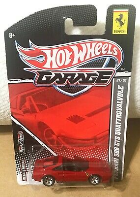 Ferrari 308 GTS Hot Wheels Garage Real Riders 1:64