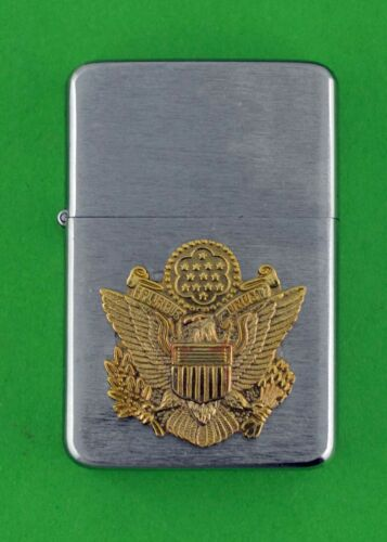 ARMY OFFICER LIGHTER -  WIND PROOF PREMIUM - GIFT BOX   MBC 118