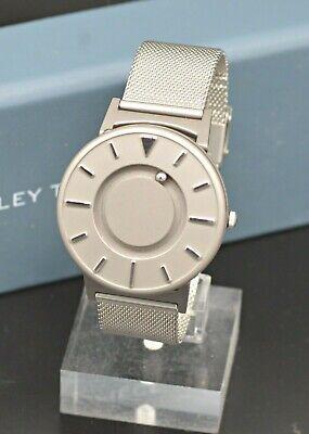 EONE THE BRADLEY TIMEPIECE TITANIUM 40MM MEN'S MESH BAND WRIST WATCH C1020320 Mesh Titanium Wrist Watch