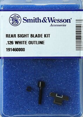 Smith & Wesson Rear Sight Blade Kit K, L, N-Frame With .126