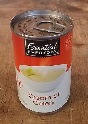 Diversion Can Stash Secret Safe Cream Of Celery Soup 10.5 oz Magnetic Lined Lid