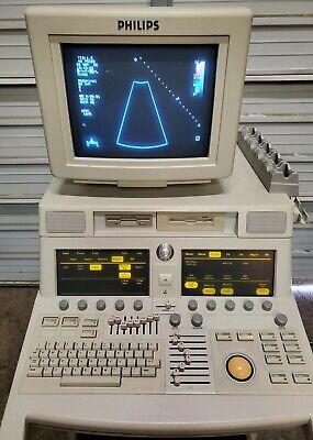 Philips Sonos 7500 M2424a 3d Ultrasound Machine