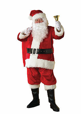Santa Premier Suit Adult Costume Christmas Thanksgiving Theme Party Halloween](Christmas Party Costume Themes)