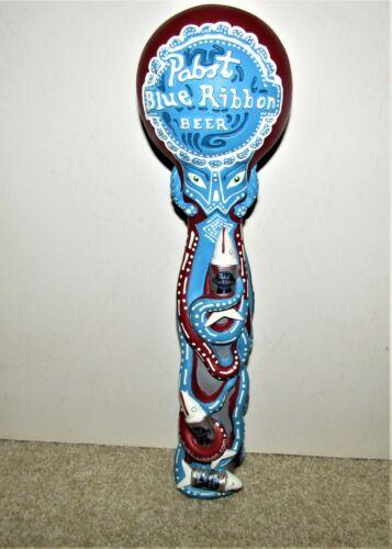 PABST Blue Ribbon beer OCTOPUS tap knob beer tapper