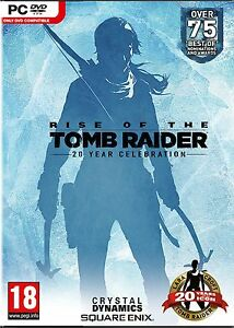 Rise of the Tomb Raider 20 Year Celebration - Art book Edition PC