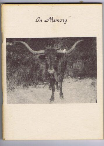Cherokee Strip Brands Illustrated Cattle 1949 Rainey Oklahoma ranching