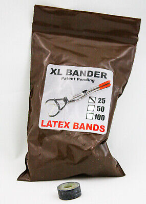 Sj Xl Band Castration Scrotum Bull Calves 25 Easy To Use Castrate Tools New