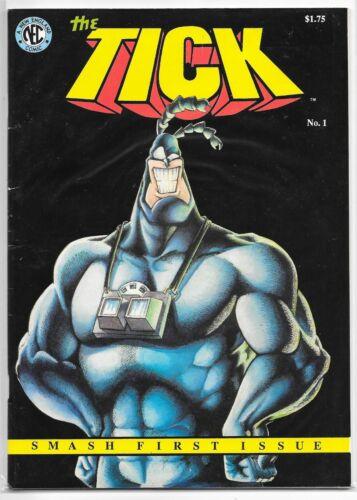 The Tick 1 1st Print 1988 NEC Comics New England Ben Edlund LOW PRINT RUN