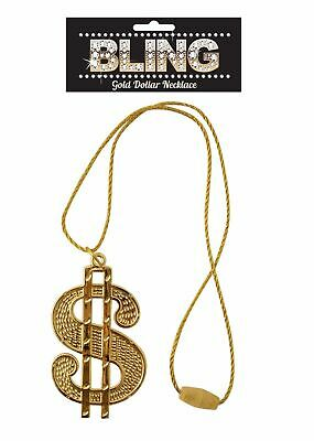 Dollar Goldene Kette Hip Hop Rapper Gangster Schmuck - Gangster Ketten