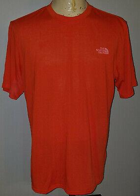 The North Face Mens VaporWick T-Shirt Large Orange