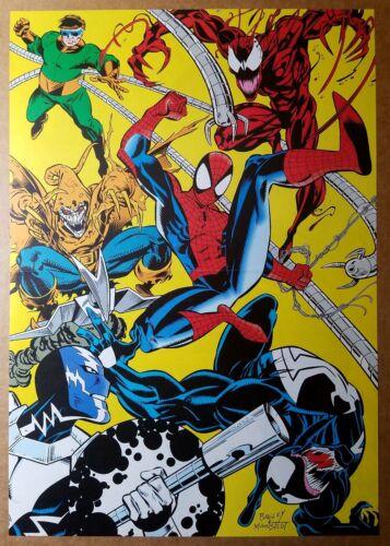 Spider-Man Carnage Venom Dr Octopus Hobgoblin Marvel Comics Poster by Mark Bagle