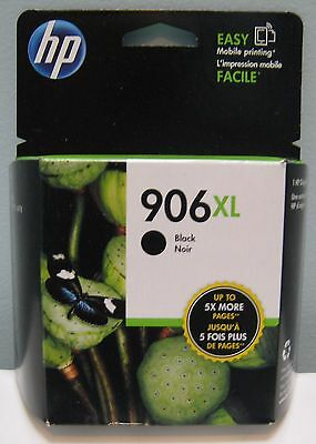 HP 906XL HIGH YIELD (T6M18AN) GENUINE BLACK INK CARTRIDGE, NEW IN BOX