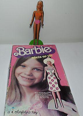 Vintage 1977 Colorforms BARBIE DRESS-UP SET in Box