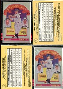 1985 Donruss FACTORY SET Sealed Blocks MINT Clemens Puckett Rookie Cards RC