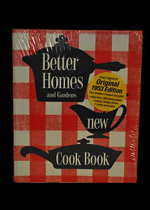 Better Homes And Gardens Cookbook 1953 Ebay
