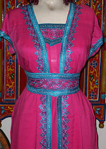 MOROCCAN-JUMPSUIT-CAFTAN-KAFTAN-TACKCHITA-ABAYA-JILBAB-ISLAMIC-CLOTHING