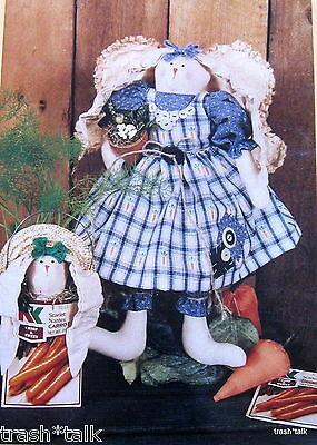 Bear Thread Designs Homestead Hattie Bunny Rabbit Pattern 14 Doll W/ Clothes