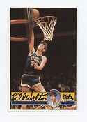 Bill Walton Autograph Card