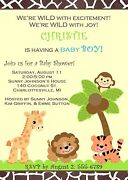 Zoo Invitations