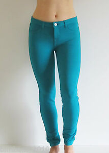 Skinny-Jean-Style-Legging-Moleton-Stretch-Sexy-Premium-Women-Pants-S-M-L-XL