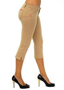 Sexy-U-Turn-Brazilian-Style-Capri-Moleton-Butt-Lifting-Pants-1121-Khaki