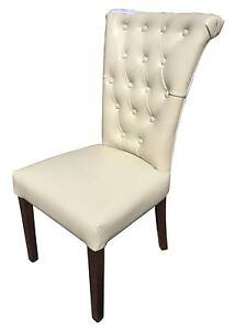 French Provincial Dinning Chair Vintage Brown Leather ONLY $269ea Hampton Bayside Area Preview