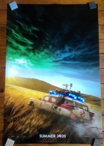 Ghostbusters Afterlife Theatrical Movie Poster Double Sided Rolled 27 x 40