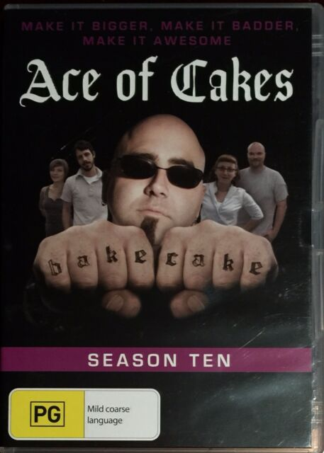 Ace Of Cakes : Season 10 (DVD, 2014)   BRAND NEW NOT SEALED