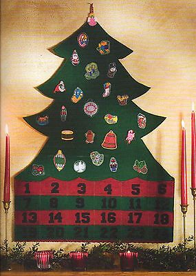 Sew it for Christmas!  Advent Calendar Stocking Tree Skirt Craft Pattern Book ()