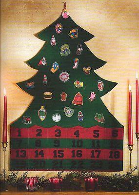 Sew it for Christmas!  Advent Calendar Stocking Tree Skirt Craft Pattern Book ()