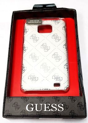 Samsung Galaxy S2 Guess Croco Beige Cell Phone Back Case Leather GUS2CRBE for sale  Shipping to Canada