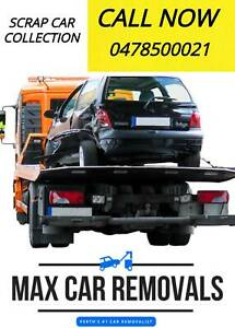 SCRAP CAR COLLECTION - MAX CAR REMOVAL Landsdale Wanneroo Area Preview