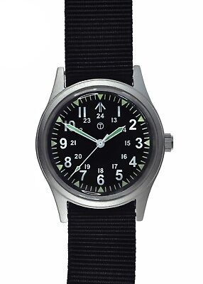 Brand New Military Industries 12/24 1960s/70s Pattern NATO General Service Watch