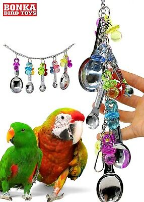 1969 Spoon Delight Bonka Bird Toy parrot cage toys cages african grey amazon